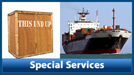 Special Moving Services | Crating | Shipping