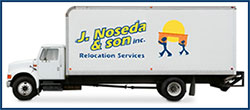 Noseda and Sons Moving Truck